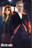 Doctor Who - Doctor & Clara Stretched Canvas Print