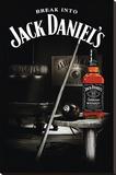 Jack Daniel's Old 7 Lærredstryk på blindramme