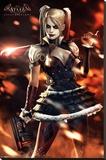 Batman Arkham Knight: Harley Quinn Fire Stampa su tela