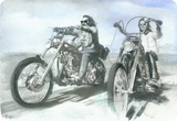 Easy Rider - Metal Tabela