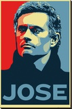 Chelsea - Jose Mourinho Stretched Canvas Print