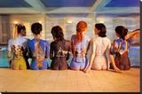 Pink Floyd - Back Catalogue Kunst op gespannen canvas
