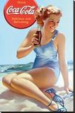 Coca-Cola - Beach Płótno naciągnięte na blejtram - reprodukcja
