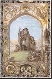 The Lord of the Rings Lærredstryk på blindramme af J. Cauty
