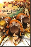 Attack on Titan - Attack Stretched Canvas Print
