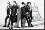 Fall Out Boy Reprodukce na plátně
