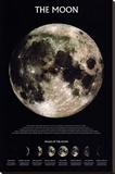 Ay (The Moon) - Şasili Gerilmiş Tuvale Reprodüksiyon