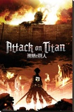 Attack on Titan Stretched Canvas Print