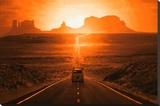 Monument Valley Lærredstryk på blindramme
