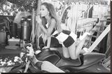 Ariana Grande Cycle Reprodukce na plátně