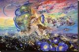 Andromeda's Quest Płótno naciągnięte na blejtram - reprodukcja autor Josephine Wall