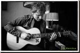 Ed Sheeran - Chord Lærredstryk på blindramme