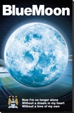 Manchester City - Blue Moon 2014 Stretched Canvas Print