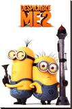 Despicable Me 2 (Armed Minions) Stretched Canvas Print