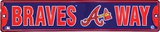 Atlanta Braves Tin Sign