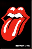 Rolling Stones Stretched Canvas Print