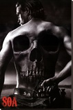 Sons of Anarchy - Jax Back Stretched Canvas Print