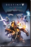 Destiny- Taken King Stretched Canvas Print