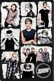 5 Seconds Of Summer- Silly Grid Stretched Canvas Print