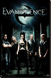 Evanescence - Group Shot Stretched Canvas Print