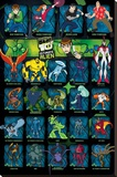 Ben 10 Ultimate Alien (Characters) Stretched Canvas Print