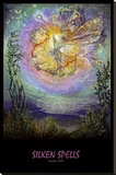 Silken Spells Stretched Canvas Print by Josephine Wall