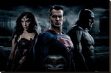 Batman vs. Superman- Trinity Photo Reproduction sur toile tendue