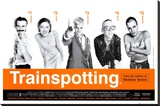 Trainspotting Stretched Canvas Print
