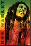 Bob Marley - Colors Stretched Canvas Print