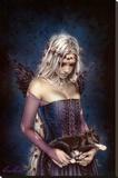 Angel of Death Lærredstryk på blindramme af Victoria Francés