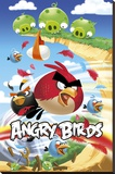 Angry Birds - Attack Stampa su tela