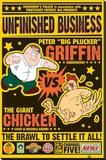 Familien Griffin Trykk på strukket lerret