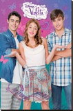 Disney Violetta III Stretched Canvas Print