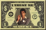 Scarface Stretched Canvas Print