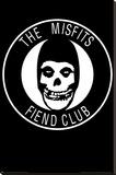 The Misfits - Fiend Club Reprodukce na plátně