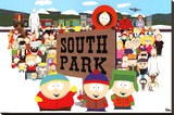 South Park Stretched Canvas Print