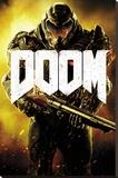 Doom- Armored Marine Stampa su tela