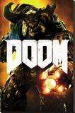 Doom- Cyber Demon - Şasili Gerilmiş Tuvale Reprodüksiyon