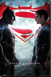 Batman Vs. Superman- One Sheet Stretched Canvas Print