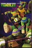 Teenage Mutant Ninja Turtles Stretched Canvas Print