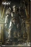 Fallout 4- Key Art Poster Stretched Canvas Print
