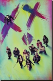 Suicide Squad- Stand Together - Şasili Gerilmiş Tuvale Reprodüksiyon