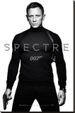 James Bond- Spectre Teaser Stretched Canvas Print