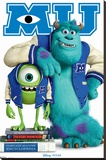 Disney Monsters University Stretched Canvas Print