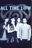 All Time Low - Colourless Stretched Canvas Print