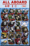 Thomas & Friends - Profile Stretched Canvas Print