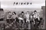 Friends - Şasili Gerilmiş Tuvale Reprodüksiyon