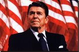 President Ronald Reagan Stretched Canvas Print