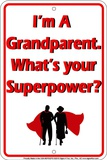 Grandparent Tin Sign