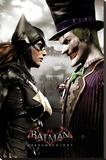 Batman Arkham Knight- Batgirl & Joker Stampa su tela